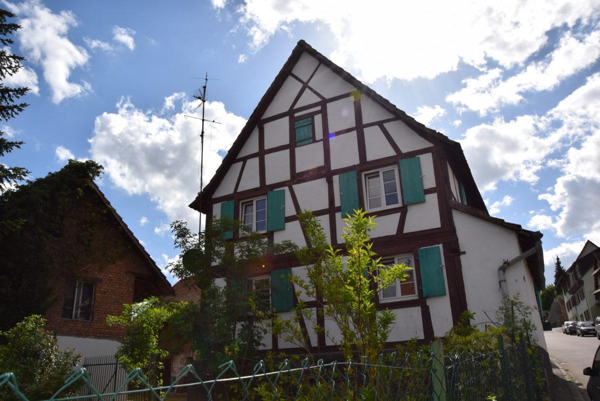 Rénover Une Maison Alsacienne kochersberg : maison alsacienne à rénover | 3.66 ares