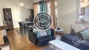 WINTZENHEIM-KOCHERSBERG | APPARTEMENT F4 + GARAGE + BALCONS + JARDIN