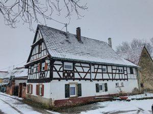 KOCHERSBERG | Anc. corps de ferme | Maison Alsacienne sur 8,13 ares