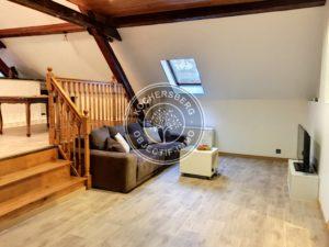 STUTZHEIM-OFFENHEIM | F2-3 de 68 m² hab meublé | Grand GARAGE
